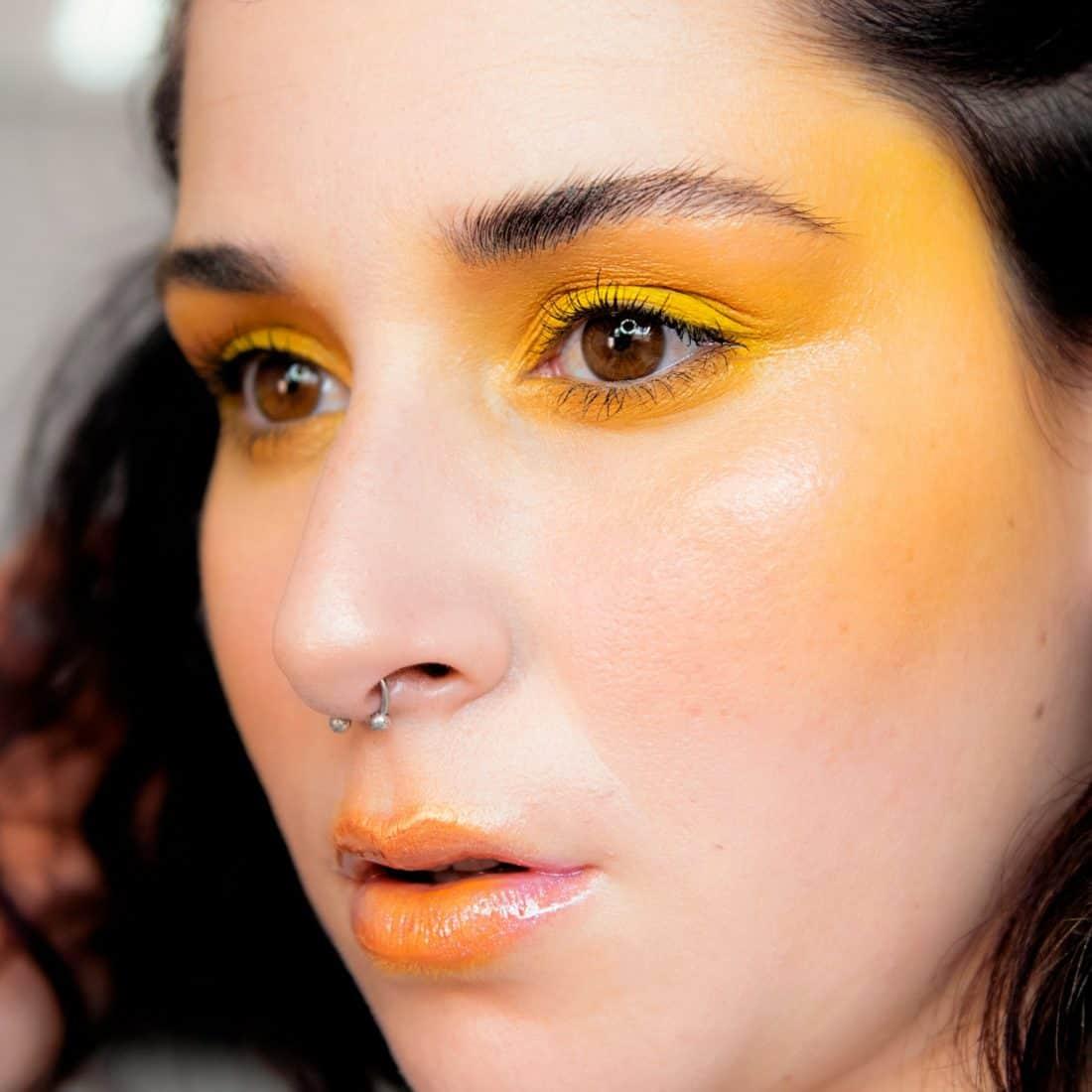 Total Yellow // Look inspirado en el trabajo de James Molloy